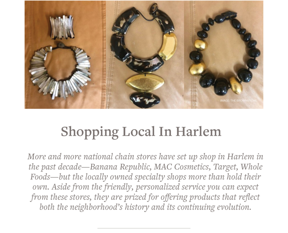 Harlem's national Chain Stores