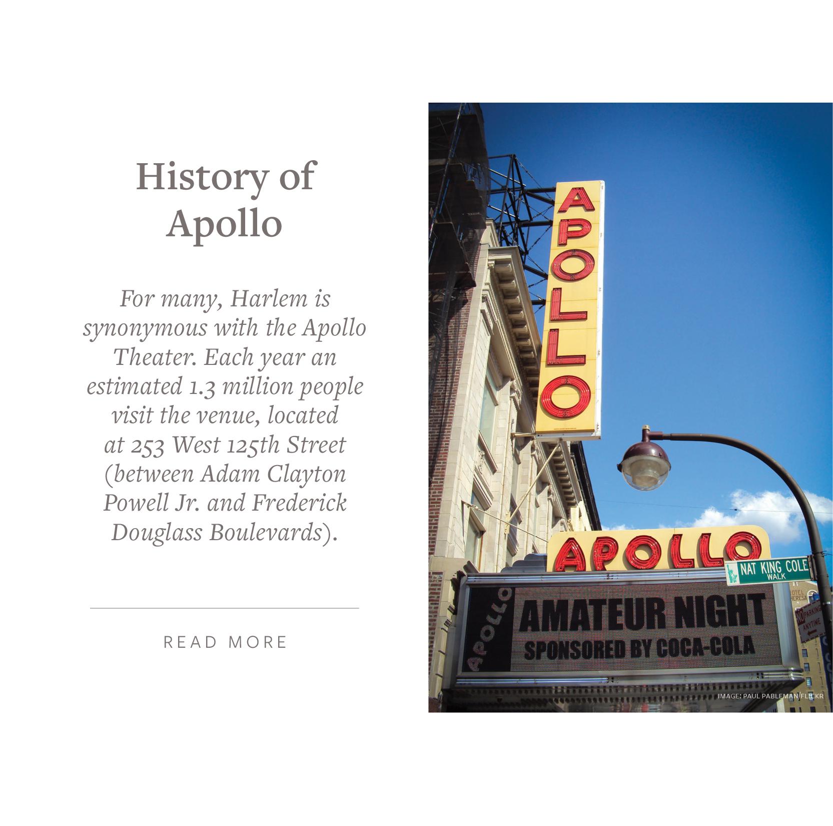 Apollo Theater - 253 West 125th Street
