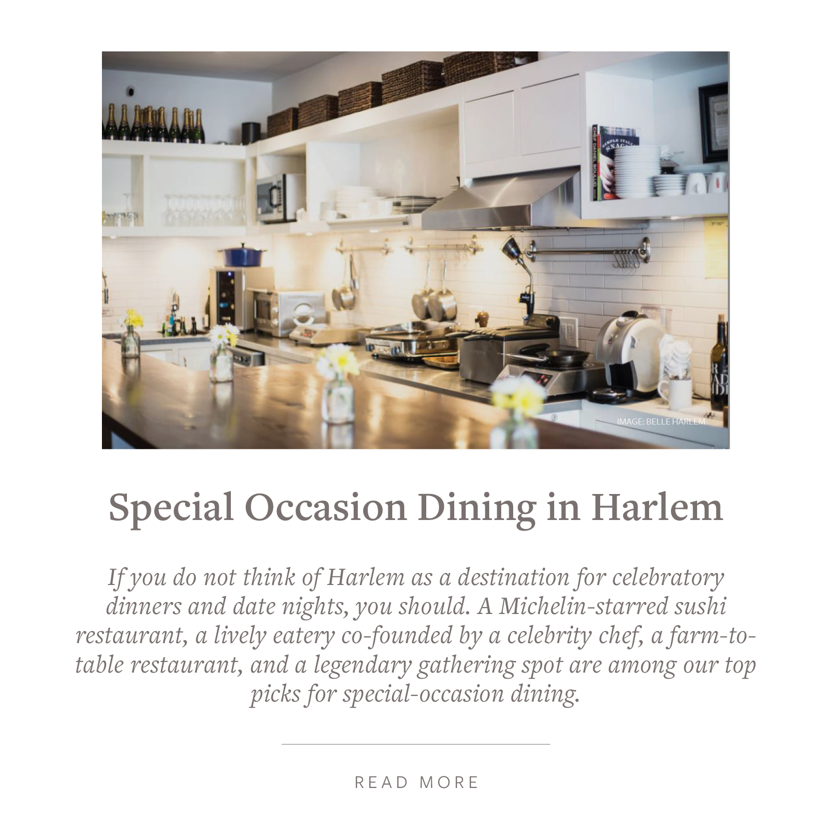 Harlem's Celebratory Dinners - Michelin-starred Sushi, Farm-to-Table